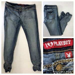 I LOVE PLAYBOY Juniors Jeans size 13/14(30)